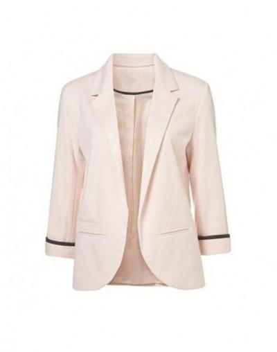 2019 New Spring Ladies Blazer Long Sleeve Blaser Women Suit jacket Female Feminine Blazer Femme Pink Blue White Black Blazer...