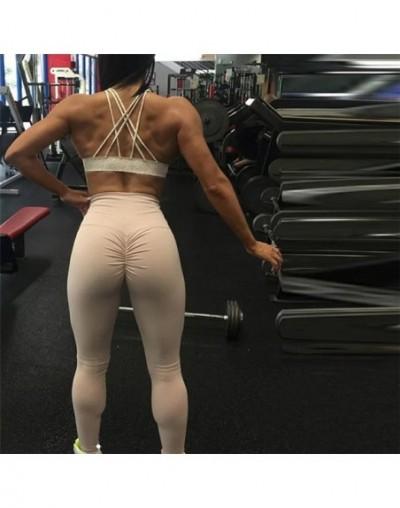 Sexy Push Up Women Leggings High Waist Workout Casual Pants Mujer Fashion Wrinkle Sportswear Fitness Leggings 8 Color - Khak...