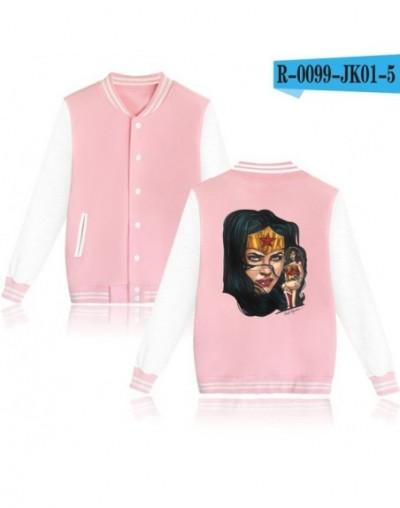 movie wonder woman jackets for women casaco feminino jaqueta feminina inverno pink casacos plus size - Beige - 4G3995947317-1