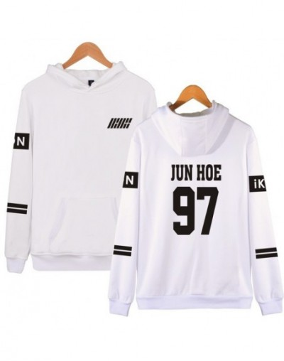 New Arrival Kpop Ikon Hoodies Women Long Sleeve Winter Autumn Fans Supportive Clothes Harajuku Pullover Oversized Hoodie - W...