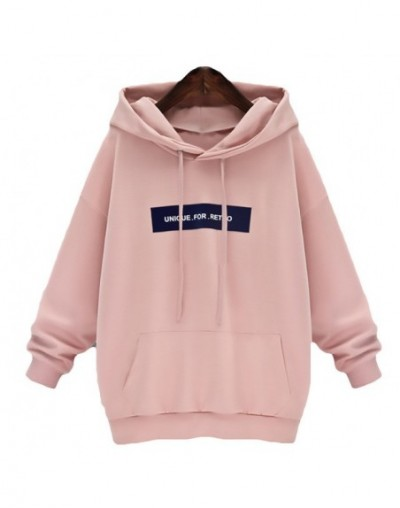 Sweatshirts Female Hoodie Pink & Gray Plus Size Sweatshirt Hoodies Women Long Sleeves Hoody For Women Thicken Hooded Sweatsh...