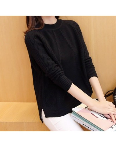Korean Version Knitted Sweater Short Jacket Women 2017 New Spring Hedging Solid Color Round Neck Loose Women Jacket A081 - b...