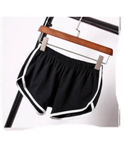 Fashion women fitness shorts female stretch short pants sexy mini slim sweatpants workout clothes - Black - 453043840112-1