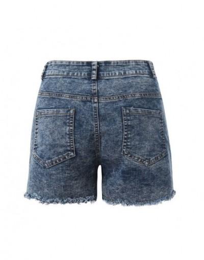 New Elegant Fashion Women Summer High Waisted Denim Shorts Jeans Women Short 2019 New Femme Push Up Skinny Slim Denim Shorts...