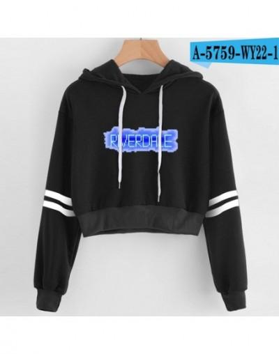 Kpop Women sexy Lovely crop top hoodies Hip Hop RIVERDALE Southside Serpent Print harajuku casual popular hoodies sweatshirt...