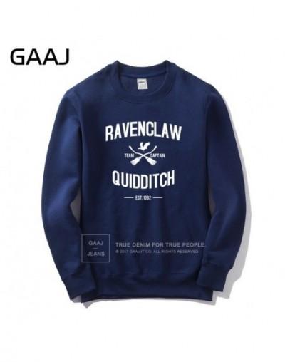 Ravenclaw Quidditch Team Men Women Sweatshirt Brand Clothing Popular Mens Printed High Quality Clothes 2019 New Hoodie - Nav...