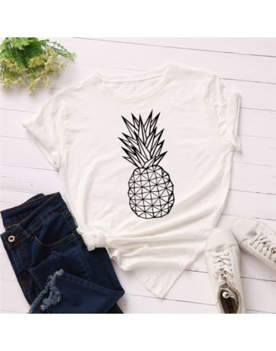 Avocado T-shirt Women T Shirts Harajuku Cartoon Pattern Printed Tee Shirts Korean tshirt Short Sleeve Tops Plus Size 2XL - 1...