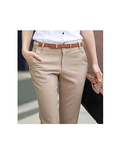 Plus Size Trousers Women Pants Spring Summer Casual OL Formal Harem Pants Women Office Palazzo Pants Women Flare Trousers - ...