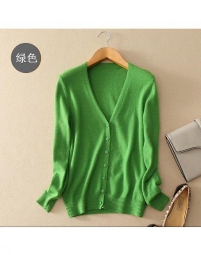 Women Sweater 2019 New Autumn Knit Cardigan Coat Thin Tops Slim Large Size Casual Long Sleeve Short Sweater Women clothing A...