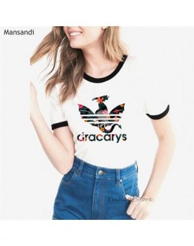 Dracarys Game of Thrones t shirts women Mother of Dragon Tee shirt femme Summer fashion t-shirt female harajuku tshirt tumbl...