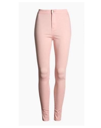 Multi-Color Female Elastic Denim Jean Pants Trousers Skinny Pencil High Waisted Woman Jeans Femme Female Pants Trousers K681...