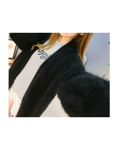 Genuine Mink Cashmere Thick Warm Coat Real Natural True Mink Cashmere Sweaters Luxury Factory Wholesale OEM discount KFP892 ...