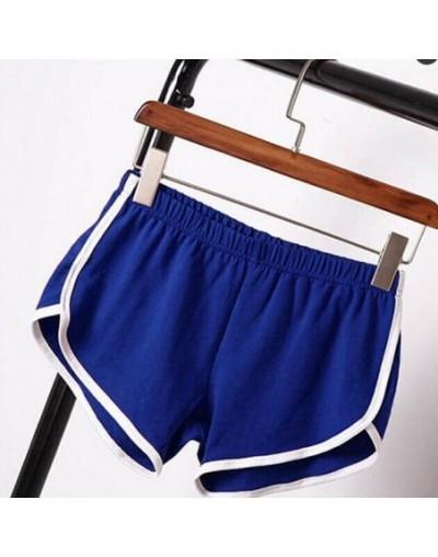 Sportwear Loose Shorts Women Casual Patchwork Short Trousers Sexy High Waist Bottoms Summer Black Shorts Plus Size 3XL - Blu...