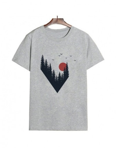 New Summer 2019 Harajuku Kawaii Aesthetic vintage Grey Couple T-Shirt Women Vogue Casual Print Short Sleeve Tops Camiseta Mu...