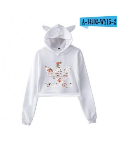 Game Of Throne Dracarys Cat Ears Hoodies Women Sweatshirt Sexy Lumbar Long Sleeve Sweatshirt Fashion Hot Printing Clothes 2X...
