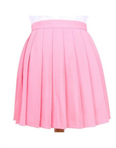 Women's A-Line Skirts Ladies Punk Japan Kawaii High Waist Pleated Skirt Female Korean Harajuku Cute Mini Skirts Plus Size XX...