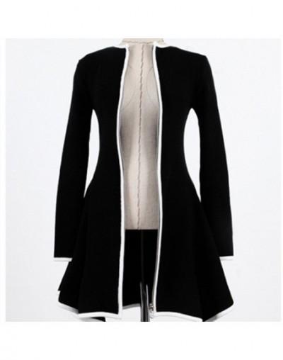 Cardigan White Black Women 2018 Femme Pull Sweater Coat Womens Sweaters Fashion Autumn Long Sleeve Ladies Casaco Feminino - ...