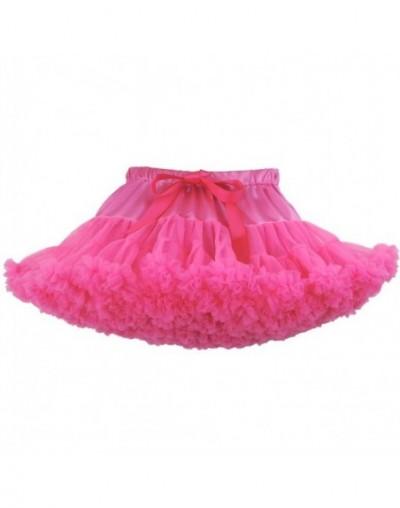 Cosplay fluffy Teenage tutu skirt veil performances skirt Sexy Role Play Pleate Mini Skirt Ruffle for Schoolgirl - Color D -...