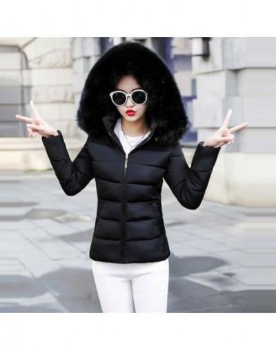 New White Parkas Winter Down Jacket Female Fake Hair Collar Warm Winter Coat For Women Plus Size 5XL Thicken Winter Jacket W...