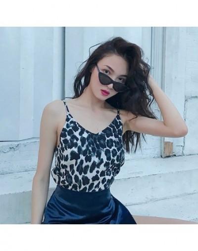 Fashion Leopard Top Summer Tank Top Women Sexy Sexy Tank Tops Camis Liva girl - H - 5P111215746619-1