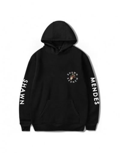 New Shawn Mendes Hoodie Autumn Women Hoodies Print Hip Hop Sweatshirts Men's Long Sleeve Hoodies Pullovers Coat Girls Female...