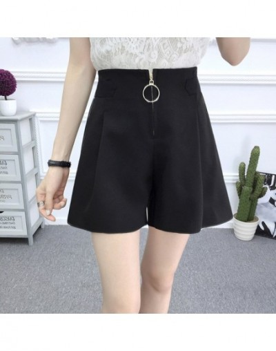 Shorts Women Stylish Slim Female Trendy High Waist Womens Simple All-match Summer Daily Chic Short Solid Color Temperament S...