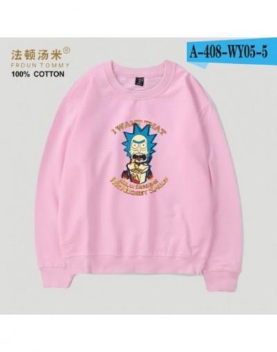 Rick and Morty Capelss Sweatshirt Hoodies Popular Women/Men Sweatshirt Women/Men Hoodies Winter Clothes - Pink - 4I394827799...