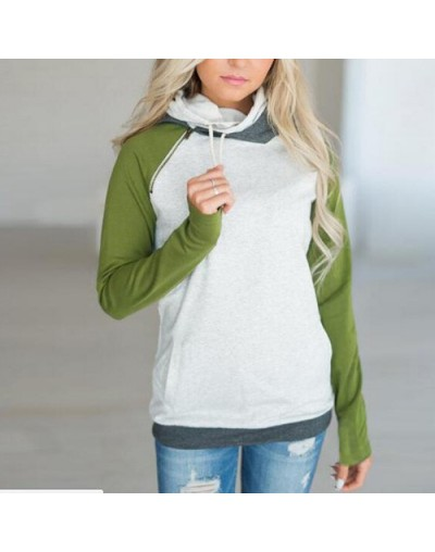 2019 Winter Sweatshirts Women Striped Print Casual Zipper Hooded Pullover Oversized Hoodie Plus Size sudadera mujer - pictur...
