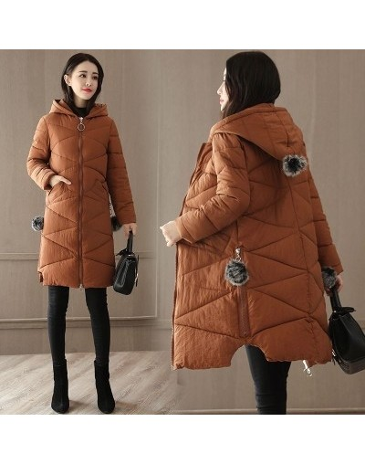 Plus size 4XL Winter Jacket Coat Women Clothes New Fashion Hooded Thicken Warm Down Cotton Jacket Outerwear Female Parkas AA...