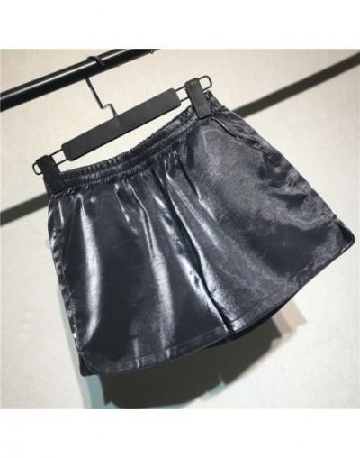 Summer Shorts Women Wide Leg High Waist Short Feminino Casual Streetwear Beach Women Black /White /Green Mini Shorts Mujer Q...
