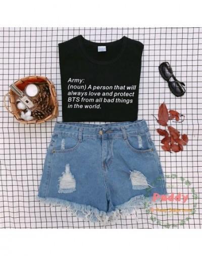 Noun a person Definition Kpop TShirt fashion cool Hip Hop tee letter print unisex tops tumblr cute hot sale Drop Ship - yell...