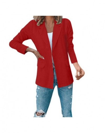 Casacas para mujer Fashion Autumn Women Office Worker Solid Full Sleeve Suit Jacket Coat Women's jacket Chaquetas mujer 2019...