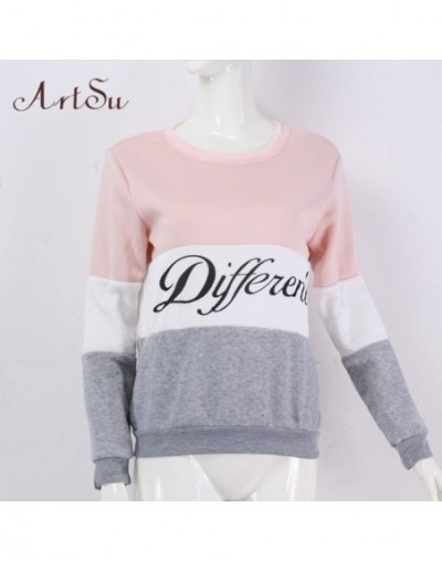 2019 Autumn and winter women fleeve hoodies printed letters Different women's casual sweatshirt hoody sudaderas EPHO80027 - ...