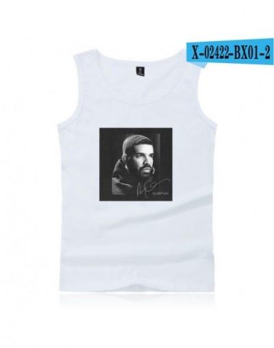 Men's Tank Top Print Tshirt Summer Cool Casual Top Hip PopTshirt Drake God's Plan Kids Adult Size Tank Top - BX01-2 - 5I1112...