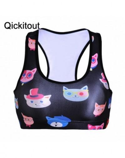 Absorb Sweat Quick Professional New Bra Top Vest Wireless Women Underwear Wire Free Fitness Push Up Plus size - 11 - 4436524...