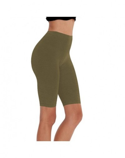 95% cotton 5% spandex women slimming running shorts skinny very soft highly stretchy girl short M30292 - army green - 4D4132...