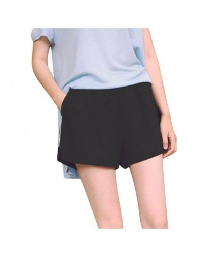 Summer Fashion Women Shorts Leisure High Waist Trousers breathable fabrics Loose Pure Color mini shorts clothes outfits aug ...