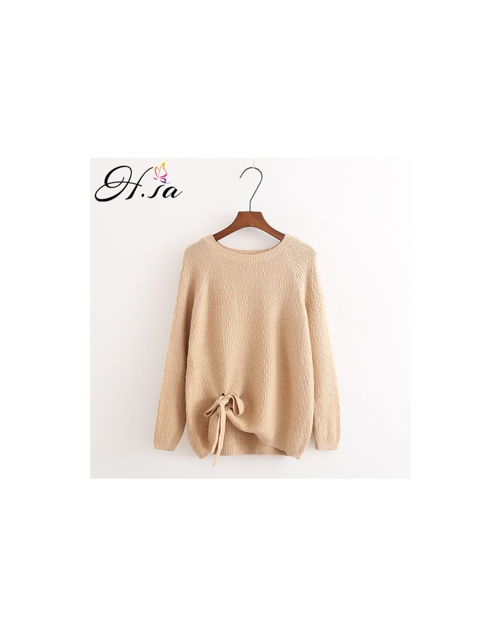 European Style Women Pullover and Sweaters 2018 Bandage Sweater Jumpers Backless Knitwear Twisted Sweater sueter mujer - MZ0...