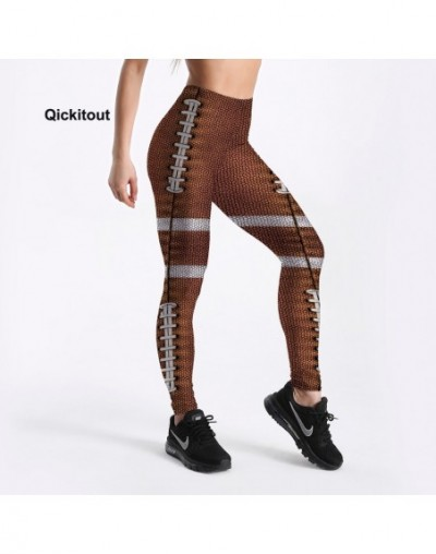 New Arrival Women Leggings Fish Scale Printed Leggings White Ring Design Fitness Workout Casual Leggings Long Trousers - 453...