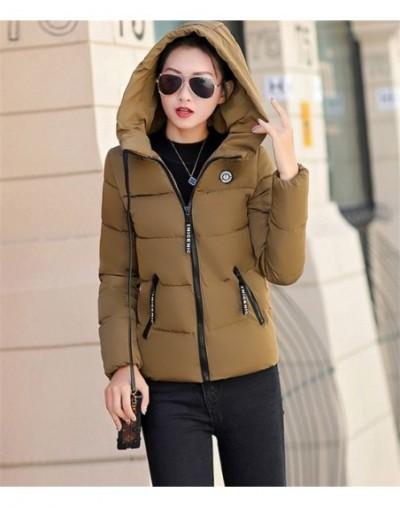 Winter short parkas women Down cotton jacket Plus size 5XL hoodies tops female Thick warm coat students Loose cotton jacket ...