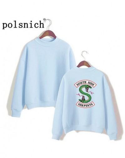 Riverdale South Side Snake Sweatshirt South Side Printed Women's Sportswear Women - Sky Blue - 4Q3080505426-2