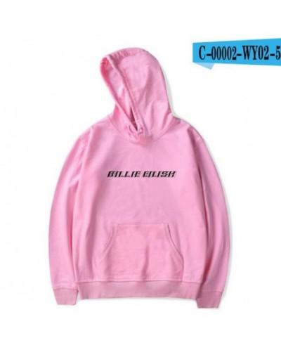 Billie Eilish Printed Womens Hoodies and Sweatshirts Moletom Feminino Harajuku Hip Hop Funny Hooded Jacket Male Tracksuit - ...