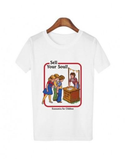 Harajuku Kawaii Clothes Vintage 80s 90s Tshirt Self Help Guide Graphic Tees Female T-shirt Funny Graphic Streetwear - 1380wh...
