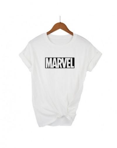 New Fashion 2018 MARVEL t-Shirt woman cotton short sleeves Casual male tshirt marvel t shirts tops tees plus size - White - ...