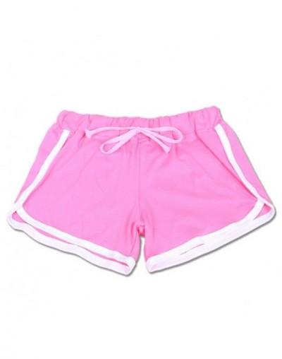 2017 Summer Leisure Women Cotton Shorts Contrast Binding Side Split Elastic Waist Loose Casual Shorts Yo-Ga Short Feminino -...