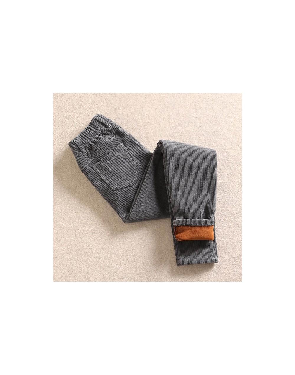 High Waist Corduroy Harem Pants Women Autumn Winter Plus Velvet Thick Casual Corduroy Llong Trousers Women Warm Sweatpants C...