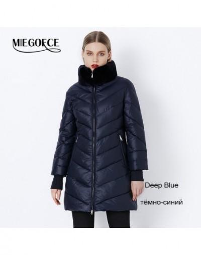 2019 Winter Women's Parka Collection Windproof Women's Thick Coat European Style Rabbit Fur Collar Women's Warm Jacket - 605...