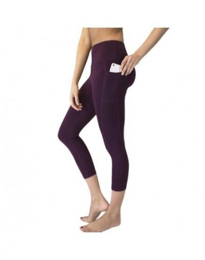 Hot Ankle-length Leggings Capri Pants Women brand High Waist Trousers With Side Pocket Slim Skinny Leggings Push Up Sexy Muj...