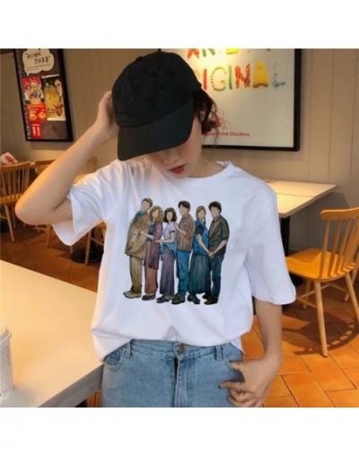 friends tv show t shirt Clothing 2019 korean tshirt 90s women female top tee shirts Graphic t-shirt Girl kawaii summer Korea...