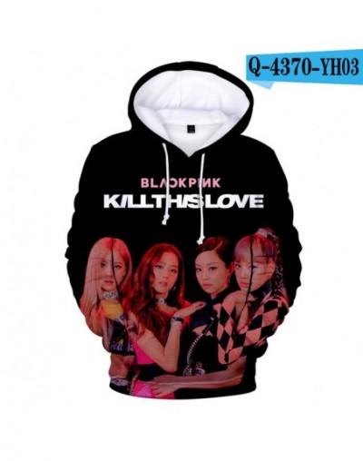 Blackpink killthislove 3D Womens Long Sleeve Hooded Sweatshirt Loose Casual Warm Hoodies Sweatshirts Female Jumper Tracksuit...
